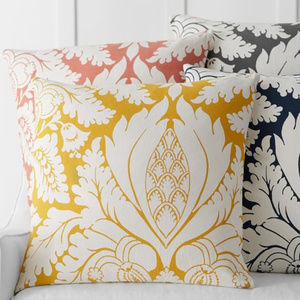 """Pottery Barn Damask 24"""" Pillow Cover"""